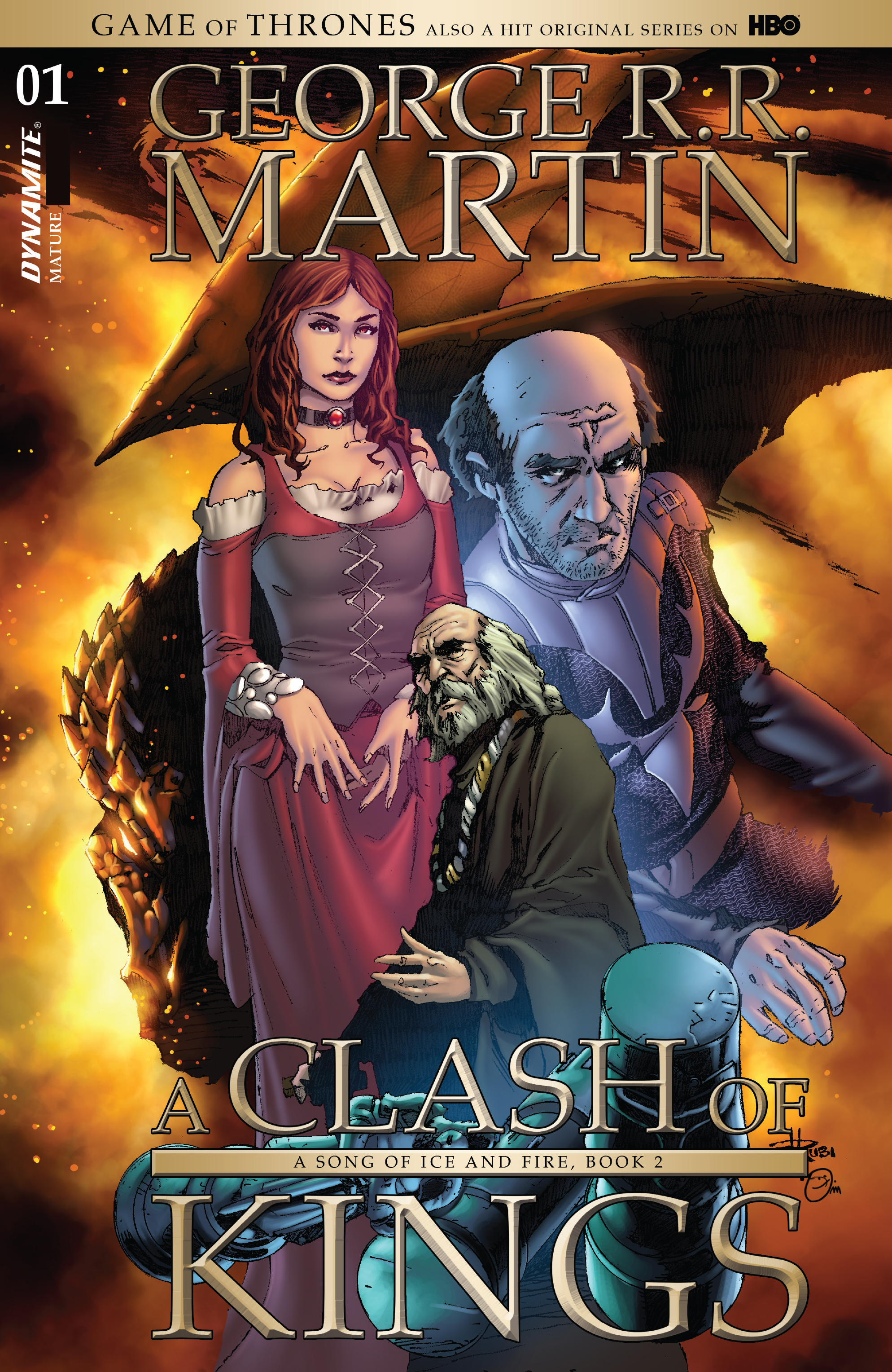 Read online A Clash of Kings comic -  Issue #1 - 4