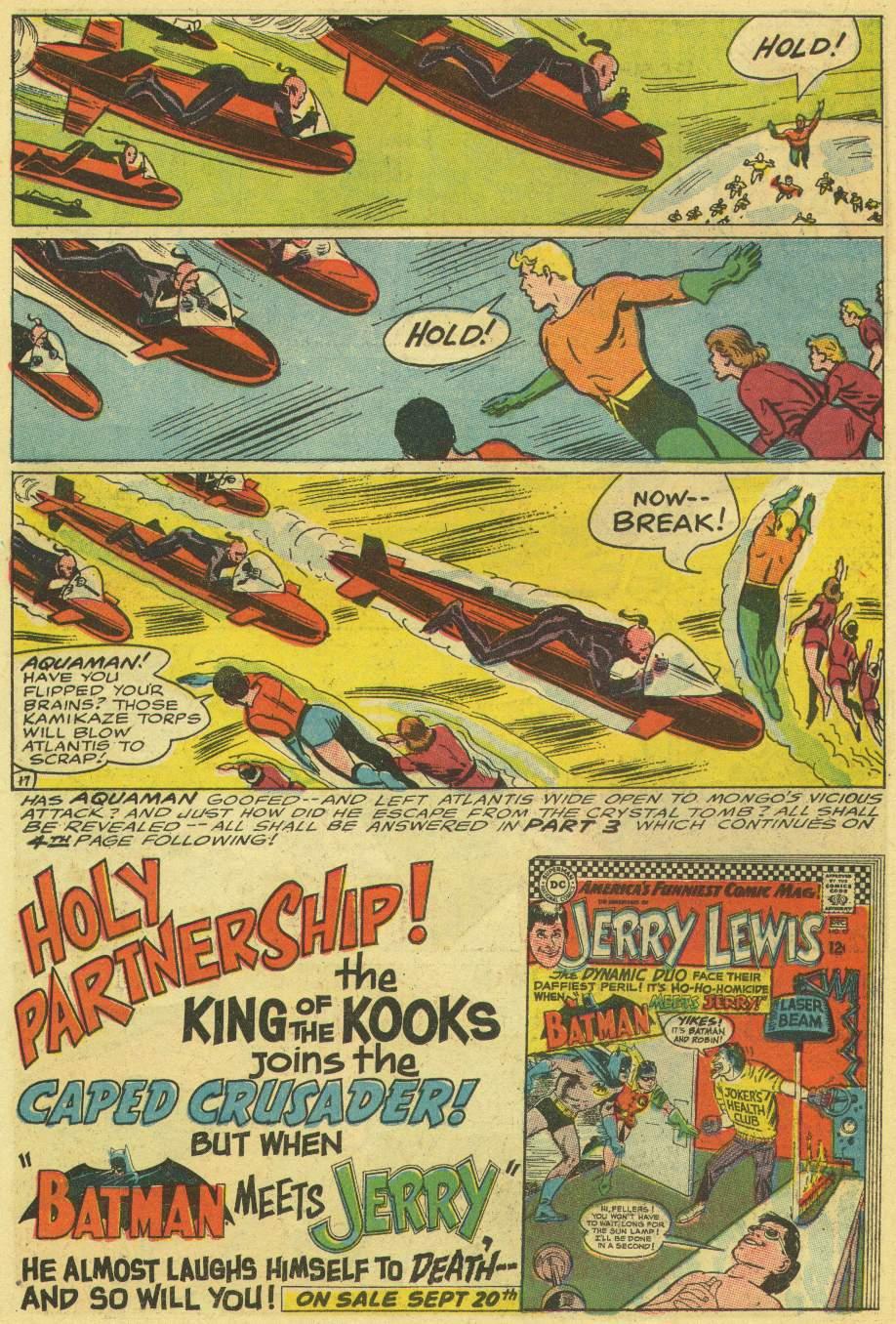 Read online Aquaman (1962) comic -  Issue #30 - 22