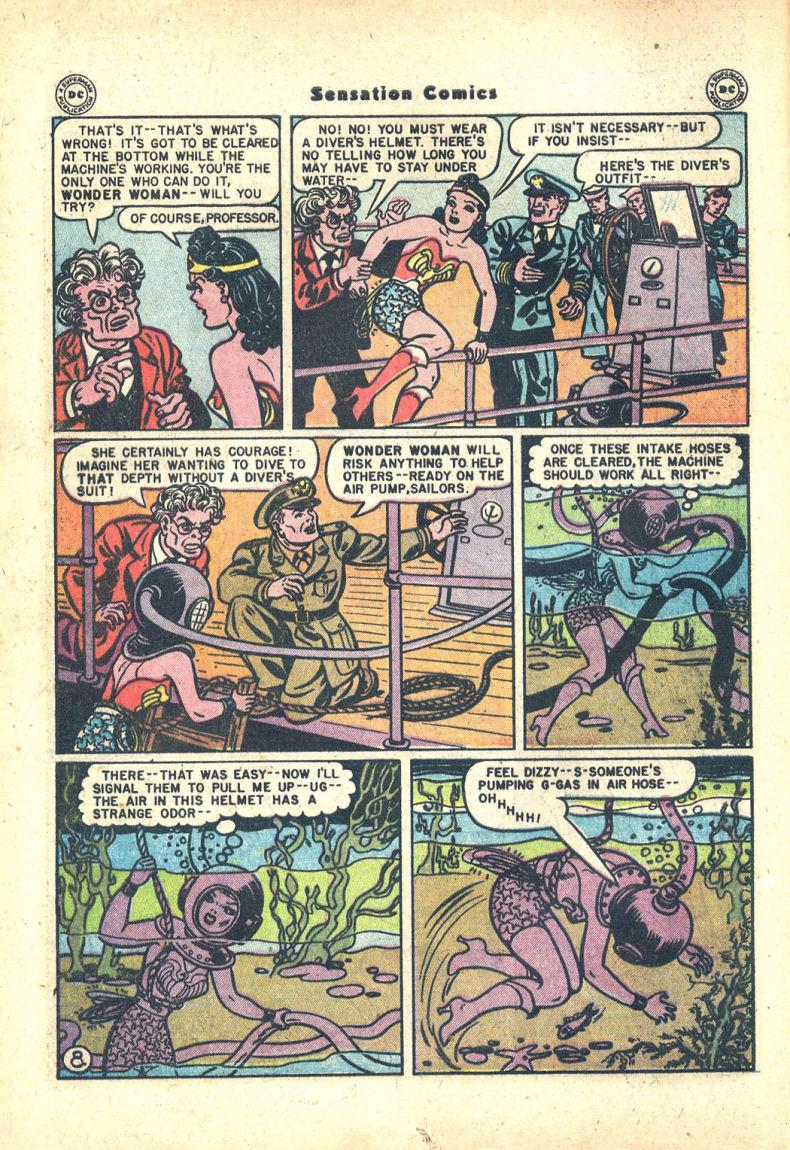 Read online Sensation (Mystery) Comics comic -  Issue #68 - 10