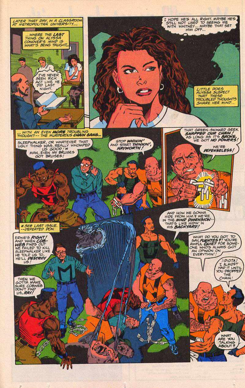 Read online Sleepwalker comic -  Issue #21 - 11