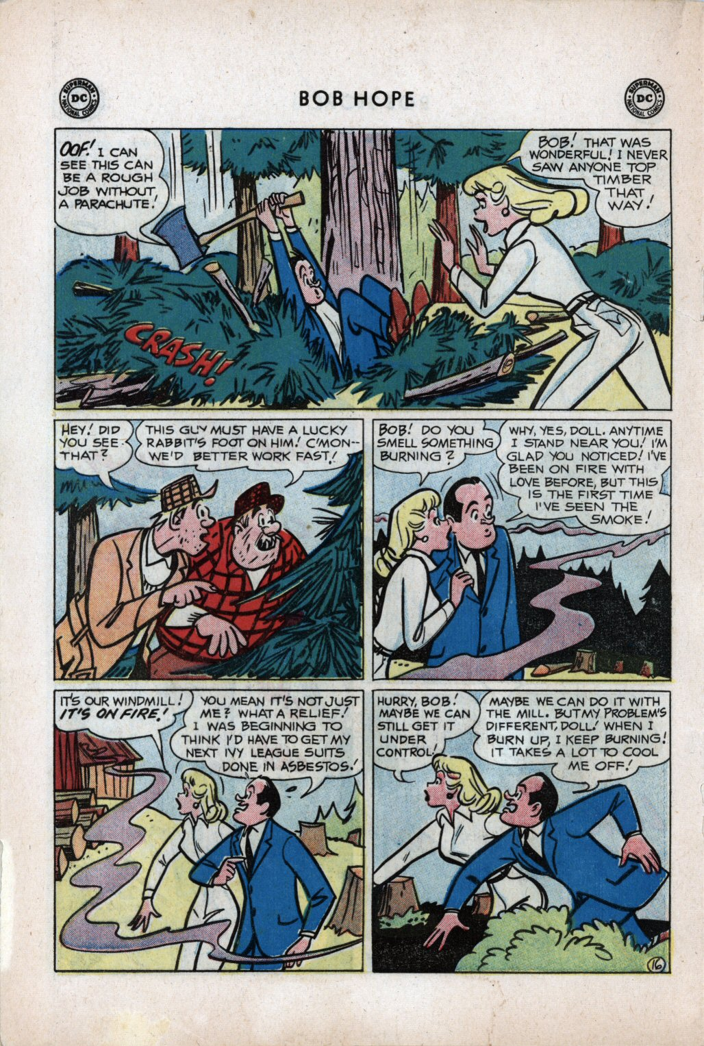 The Adventures of Bob Hope issue 59 - Page 20