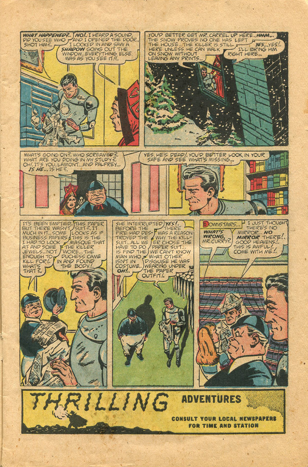 Read online Shadow Comics comic -  Issue #100 - 5