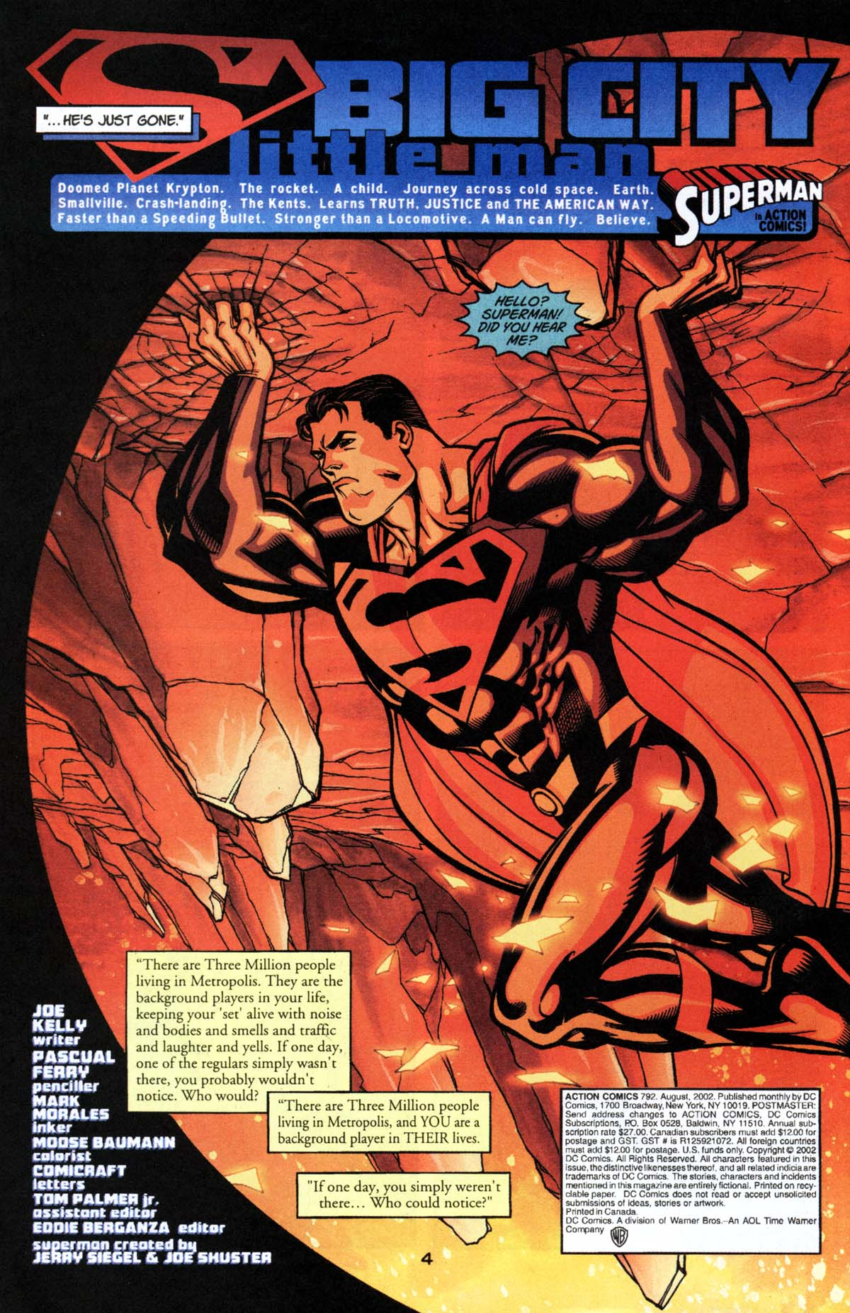 Read online Action Comics (1938) comic -  Issue #792 - 5