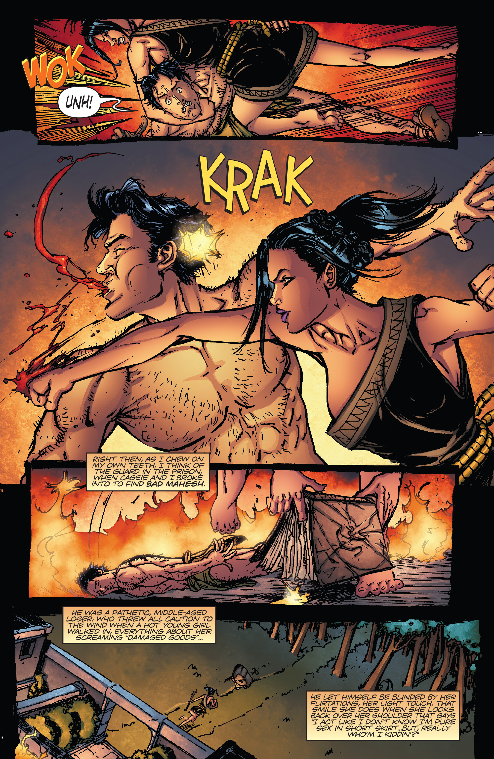 Read online Army of Darkness vs. Hack/Slash comic -  Issue #5 - 24