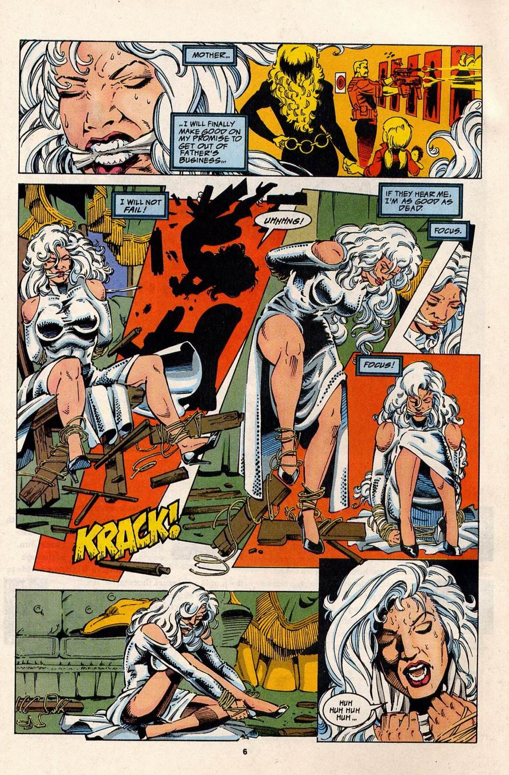 Read online Silver Sable and the Wild Pack comic -  Issue #32 - 6