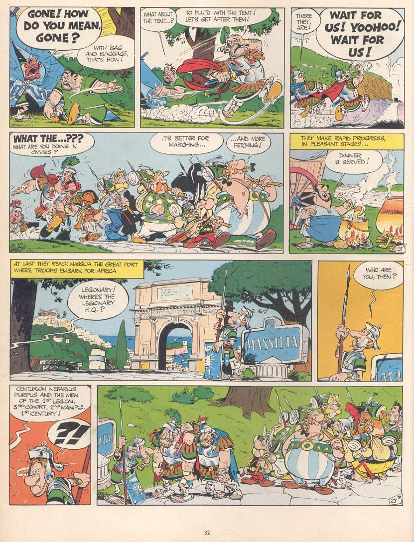 Read online Asterix comic -  Issue #10 - 29