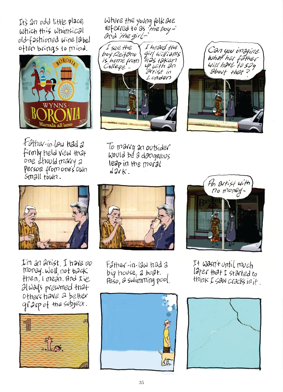 Read online The Lovely Horrible Stuff comic -  Issue # TPB - 37