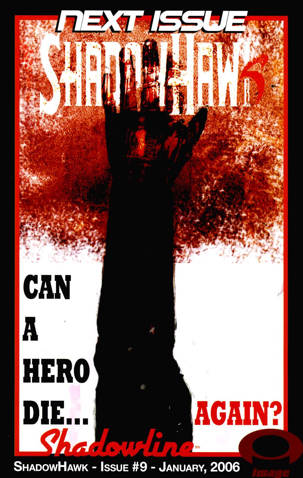Read online ShadowHawk (2005) comic -  Issue #8 - 25