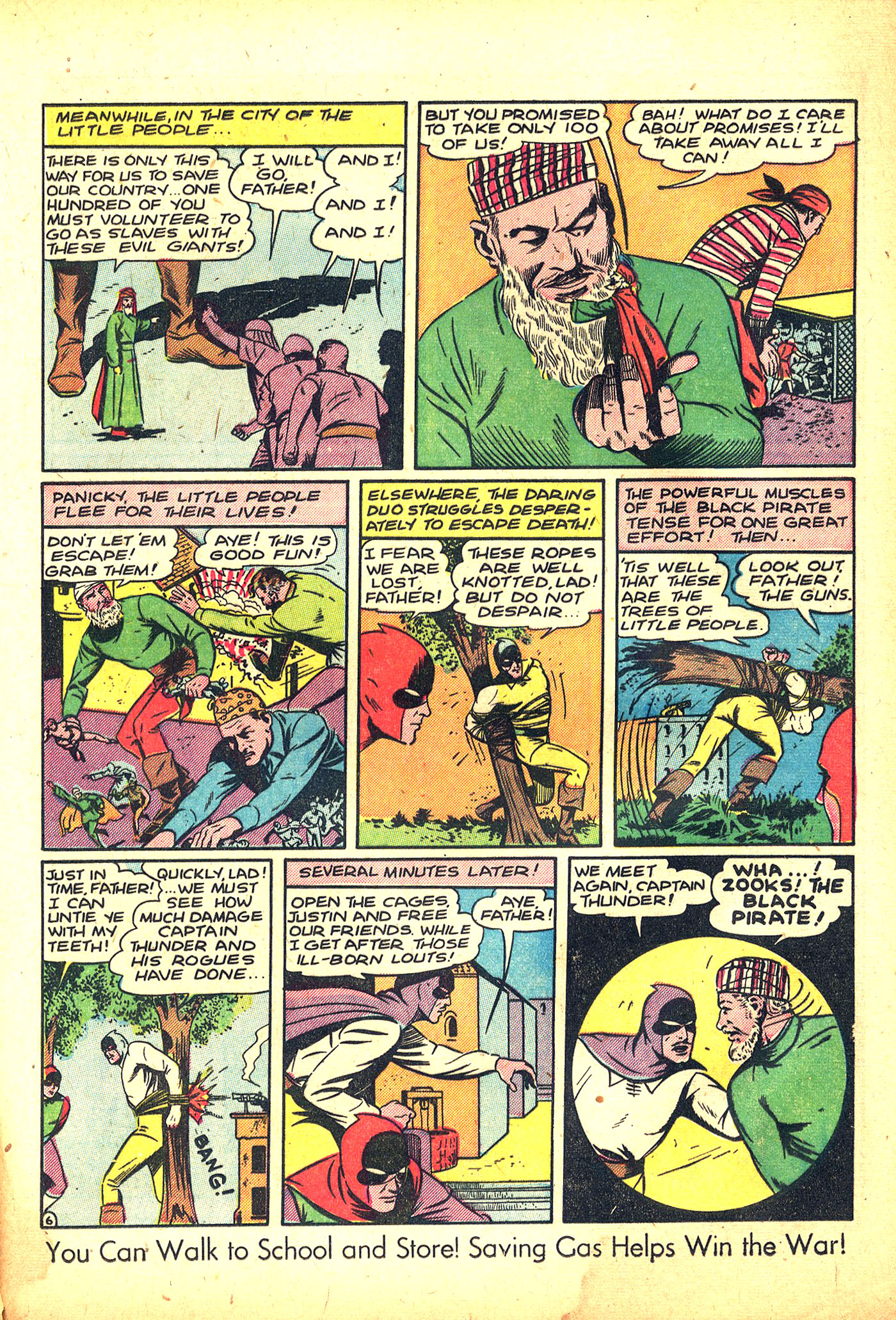 Read online Sensation (Mystery) Comics comic -  Issue #31 - 37