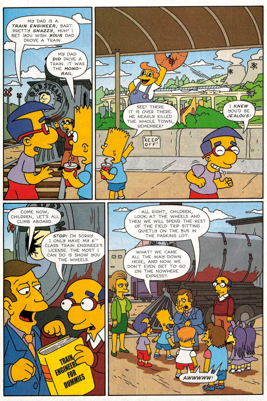 Read online Simpsons Comics Presents Bart Simpson comic -  Issue #30 - 19