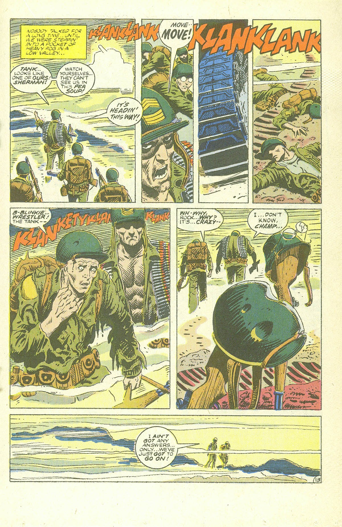 Read online Sgt. Rock comic -  Issue #409 - 18