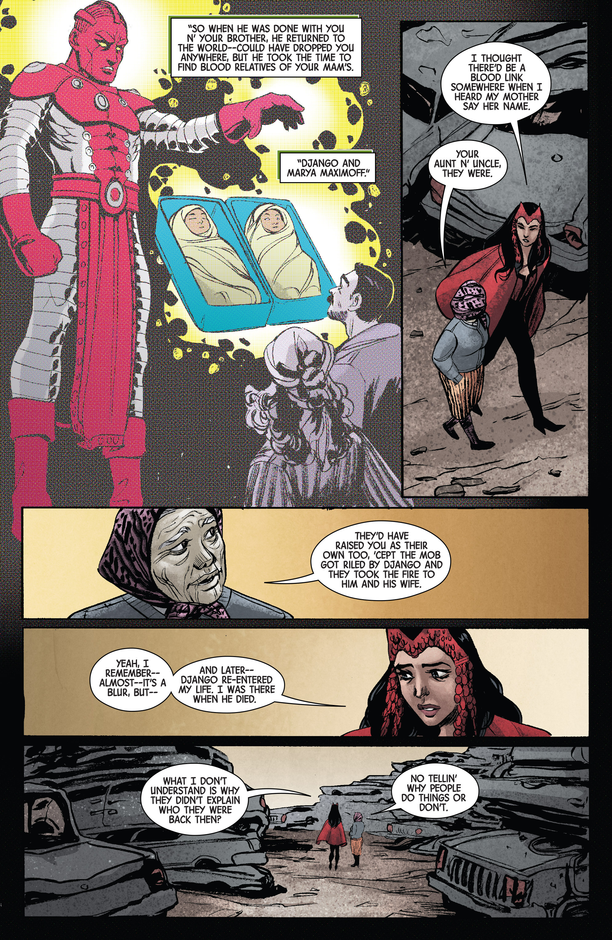 Read online Scarlet Witch (2016) comic -  Issue #11 - 18