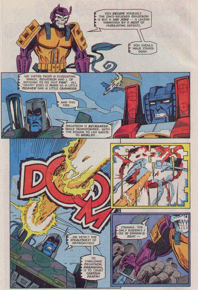 Read online Transformers: Generation 2 comic -  Issue #5 - 20