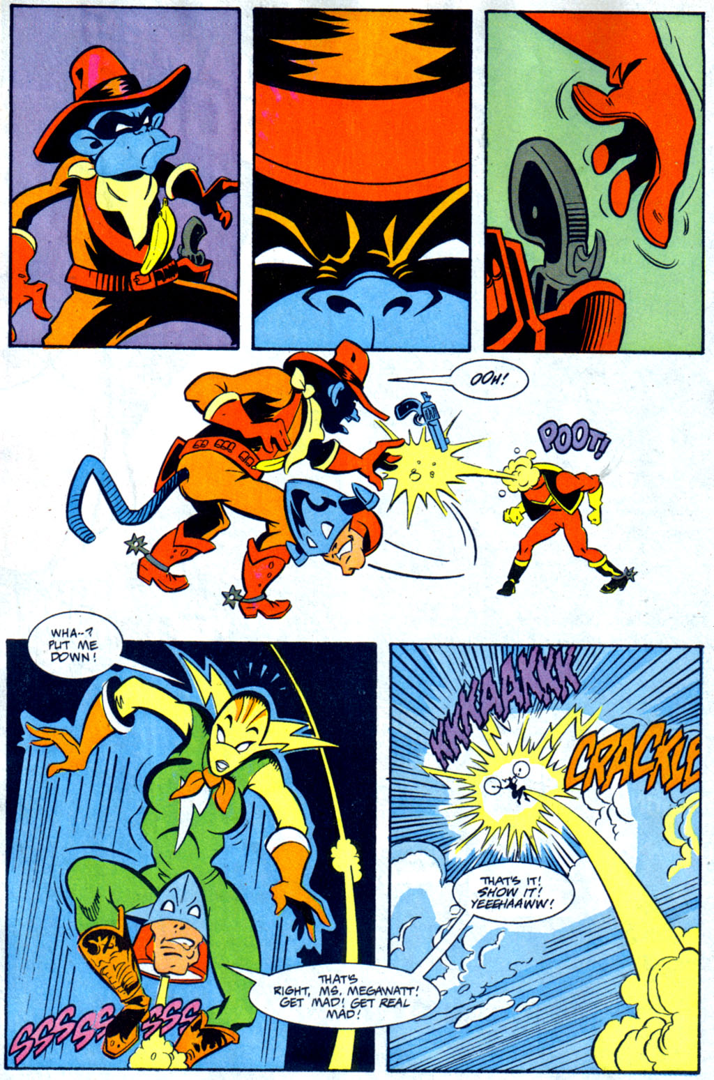 Read online Defenders of Dynatron City comic -  Issue #3 - 18