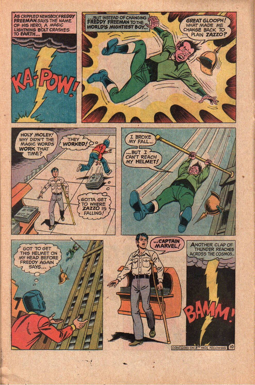 Read online Shazam! (1973) comic -  Issue #19 - 16