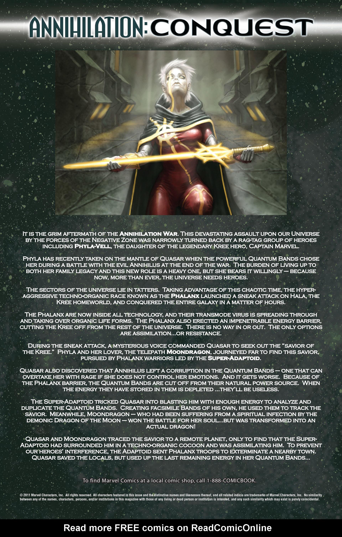 Read online Annihilation: Conquest - Quasar comic -  Issue #4 - 2