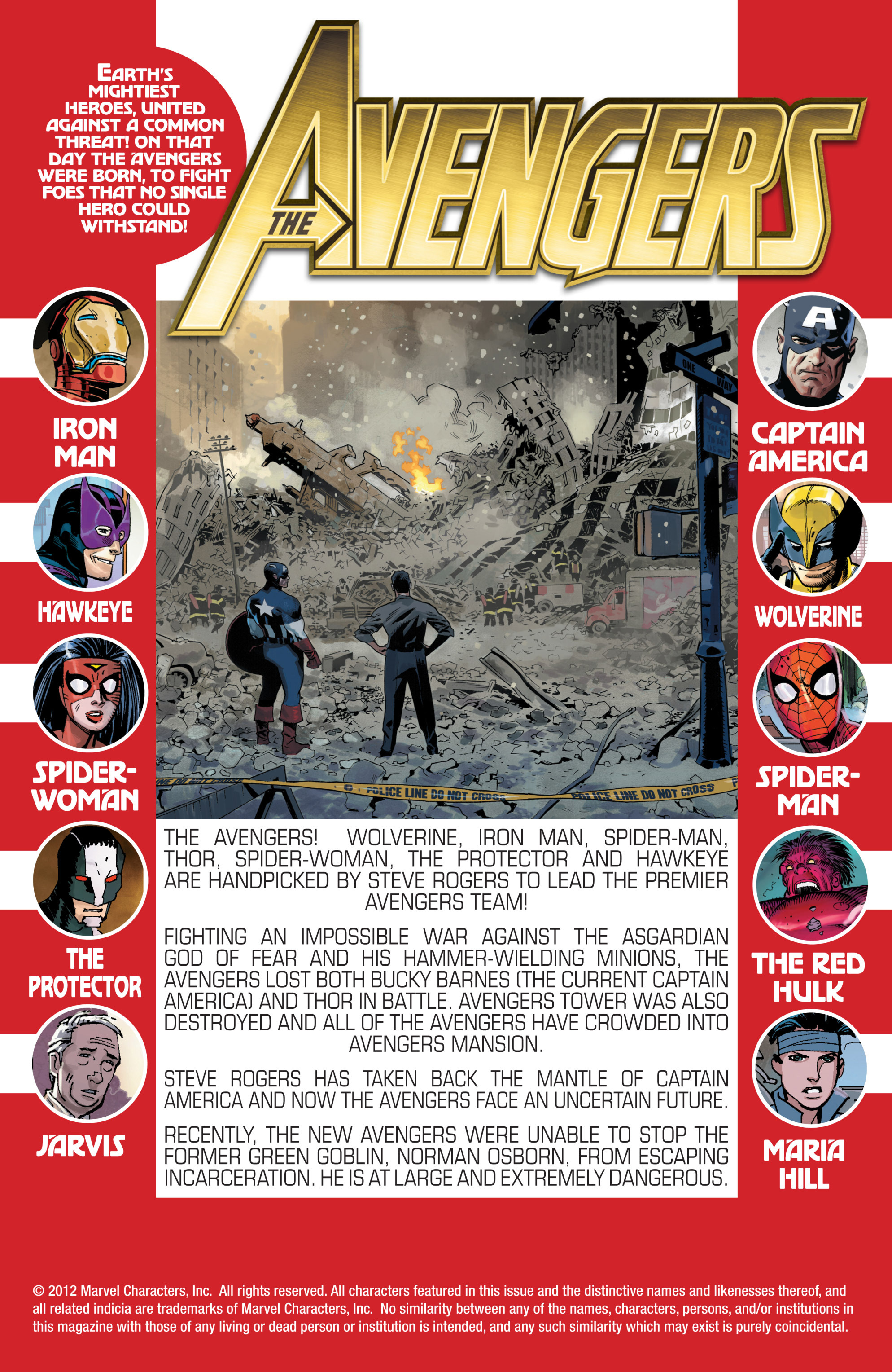 Read online Avengers (2010) comic -  Issue #19 - 2