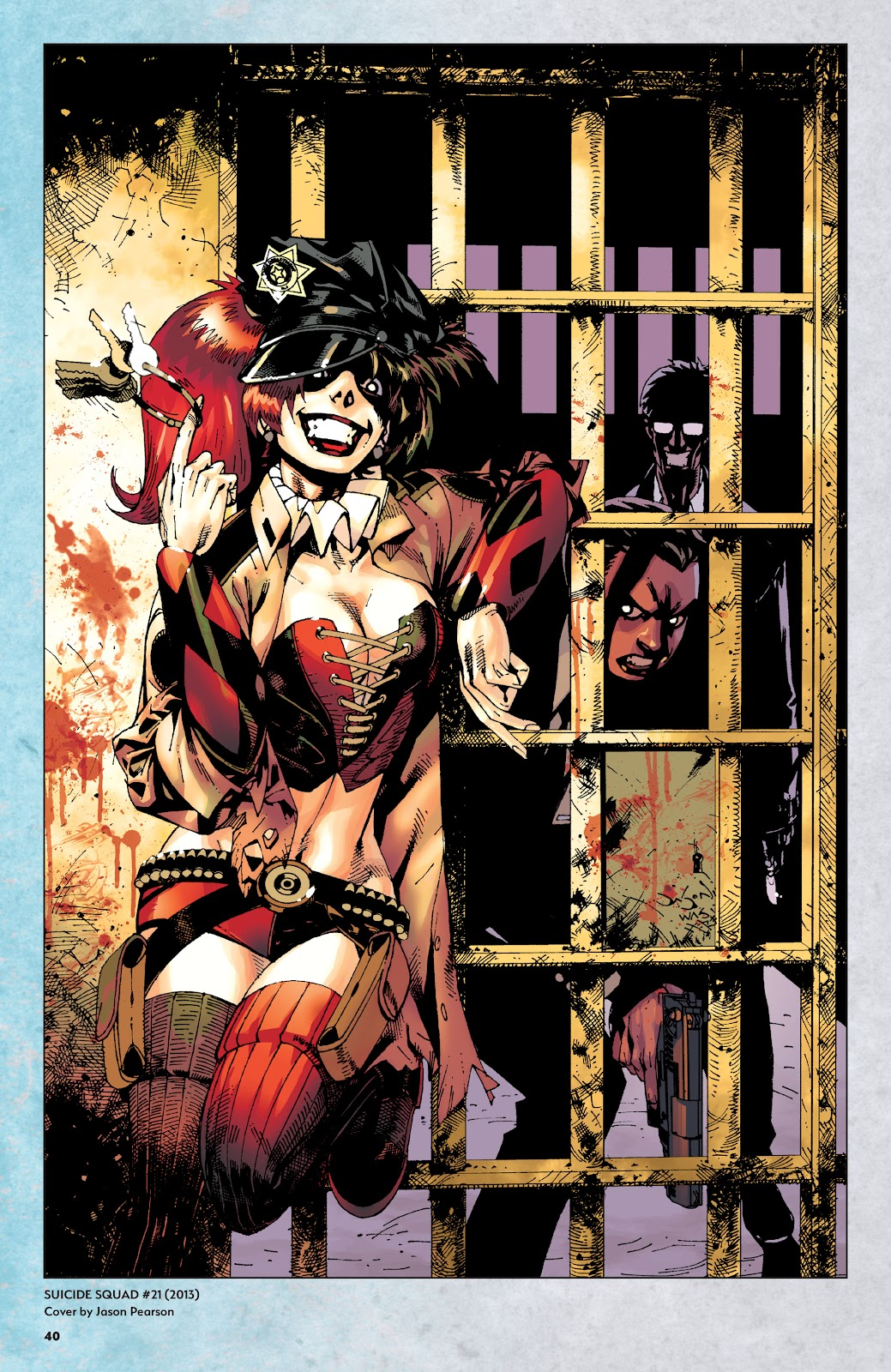 Read online Harley Quinn: A Rogue's Gallery―The Deluxe Cover Art Collection comic -  Issue # TPB (Part 1) - 39