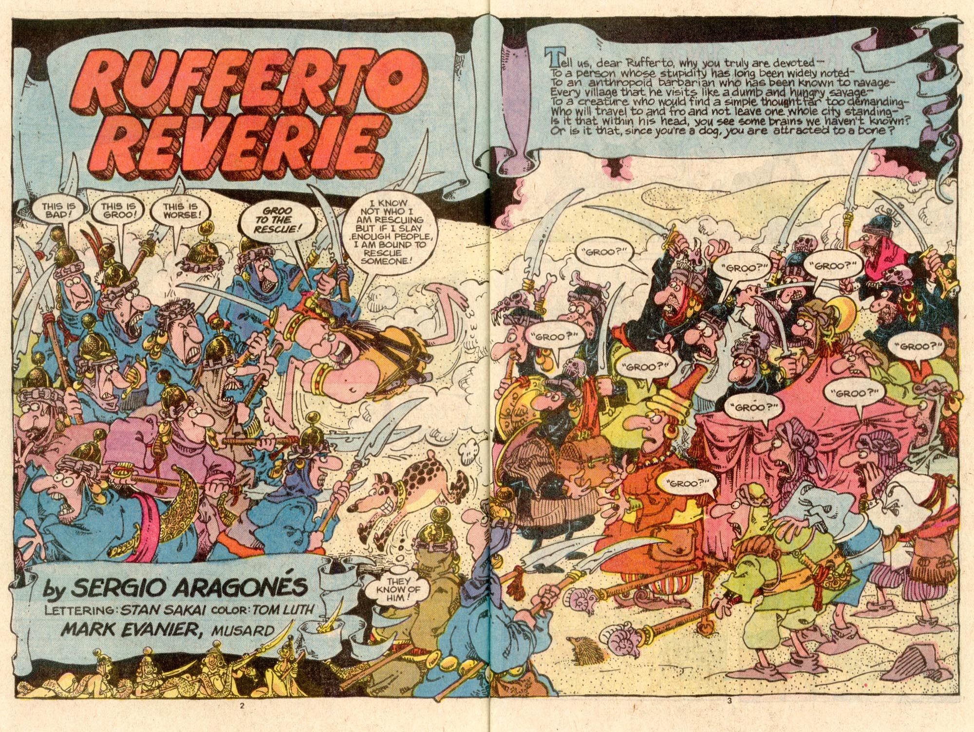 Read online Sergio Aragonés Groo the Wanderer comic -  Issue #44 - 3