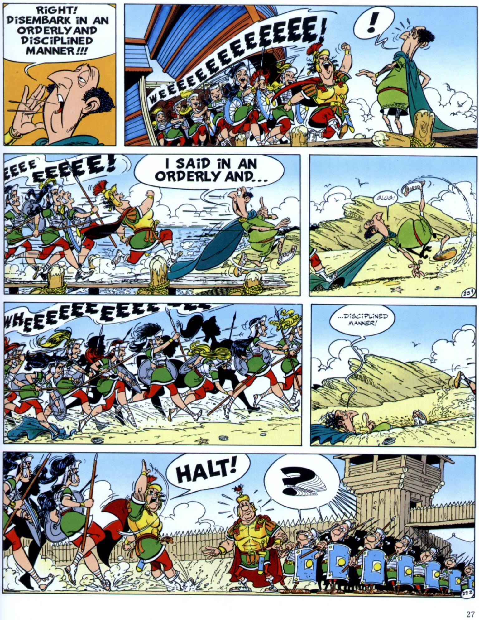 Read online Asterix comic -  Issue #29 - 25