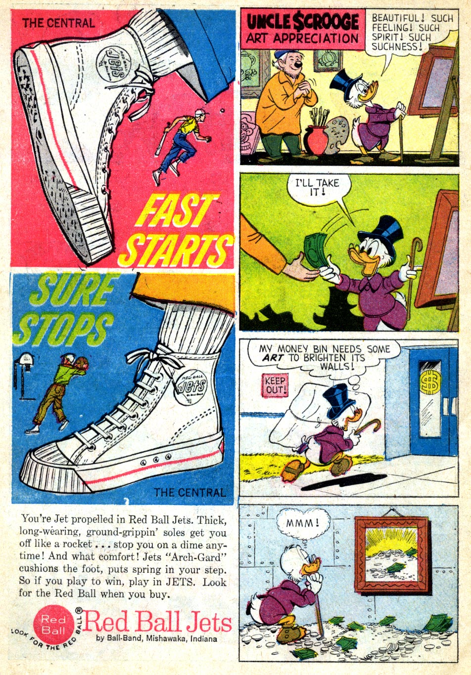 Read online Uncle Scrooge (1953) comic -  Issue #39 - 33