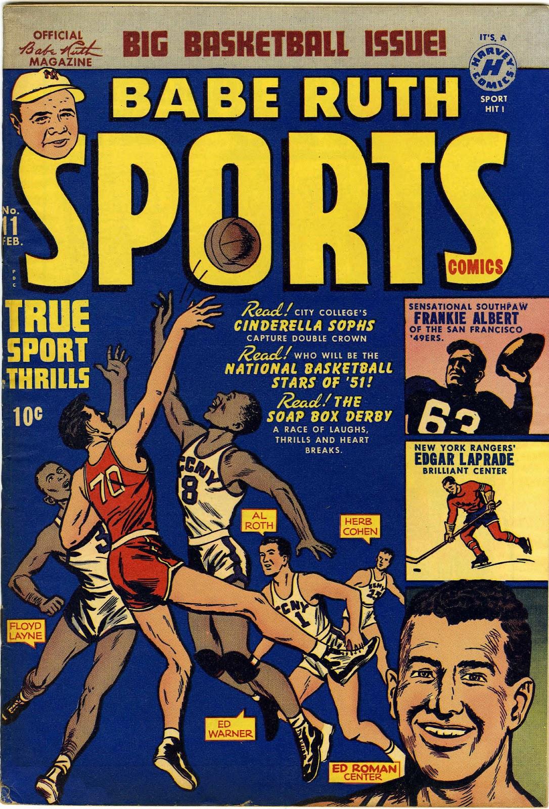 Babe Ruth Sports Comics 11 Page 1