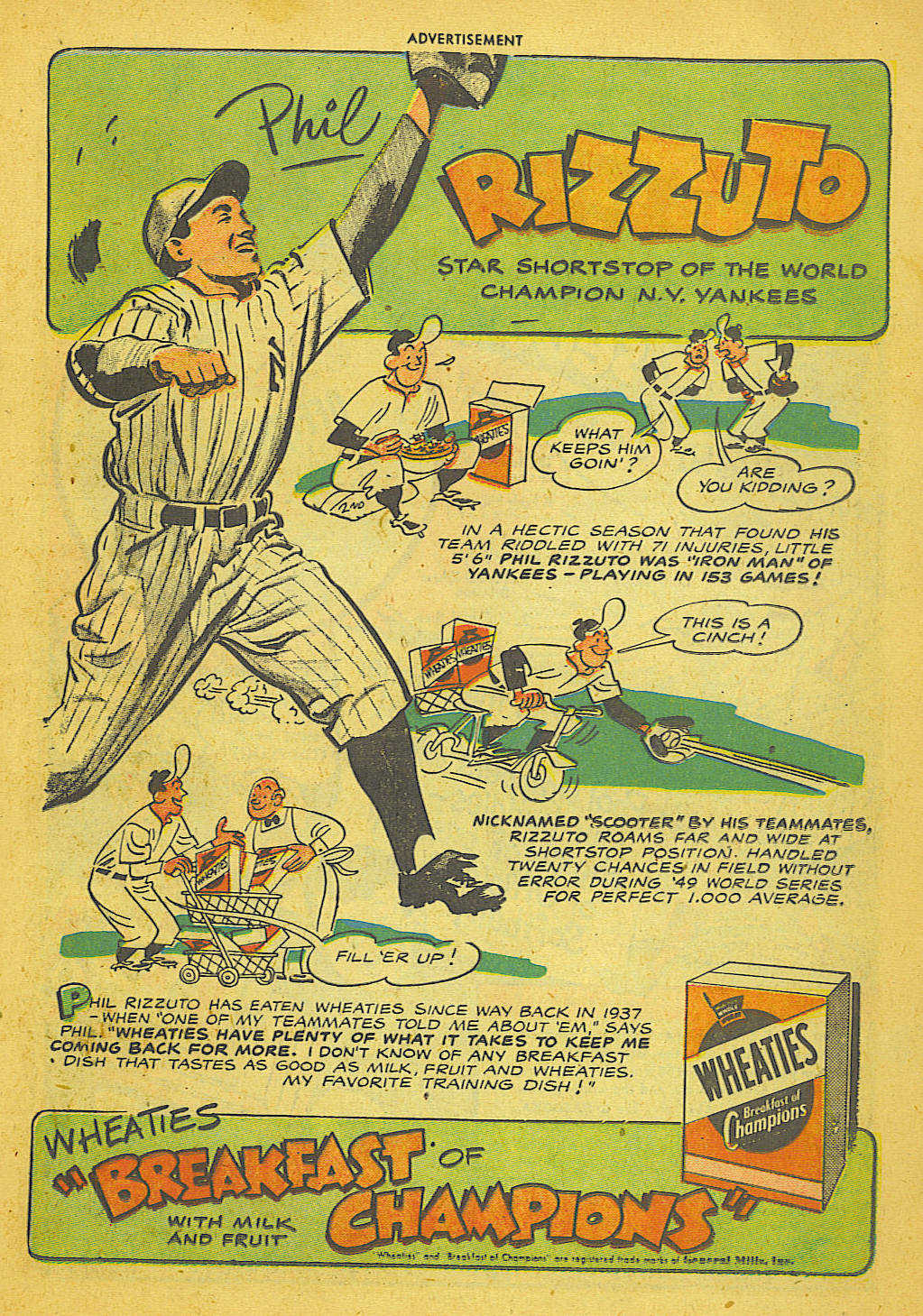 Read online Adventure Comics (1938) comic -  Issue #153 - 14