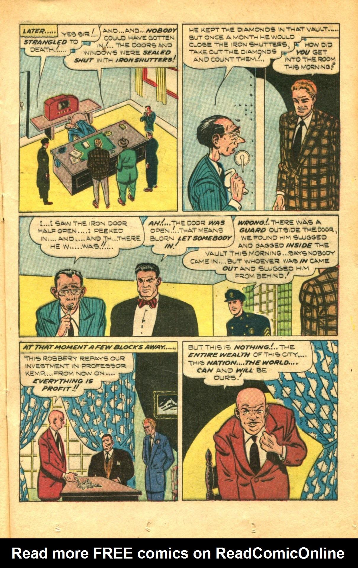 Read online Shadow Comics comic -  Issue #91 - 25