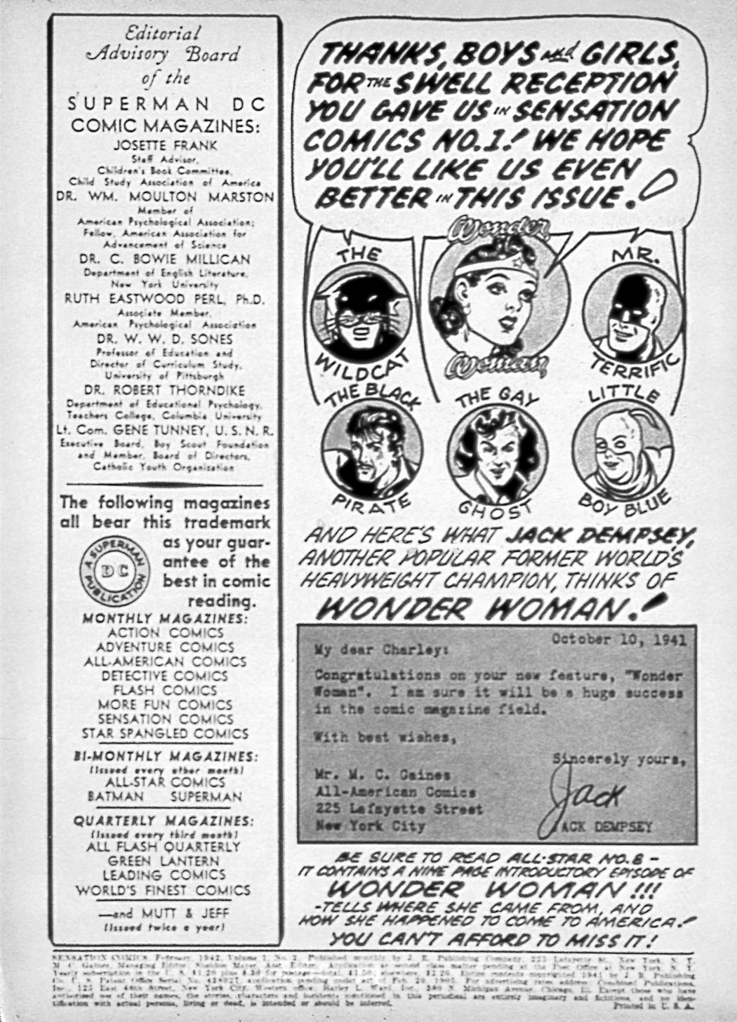 Read online Sensation (Mystery) Comics comic -  Issue #2 - 2