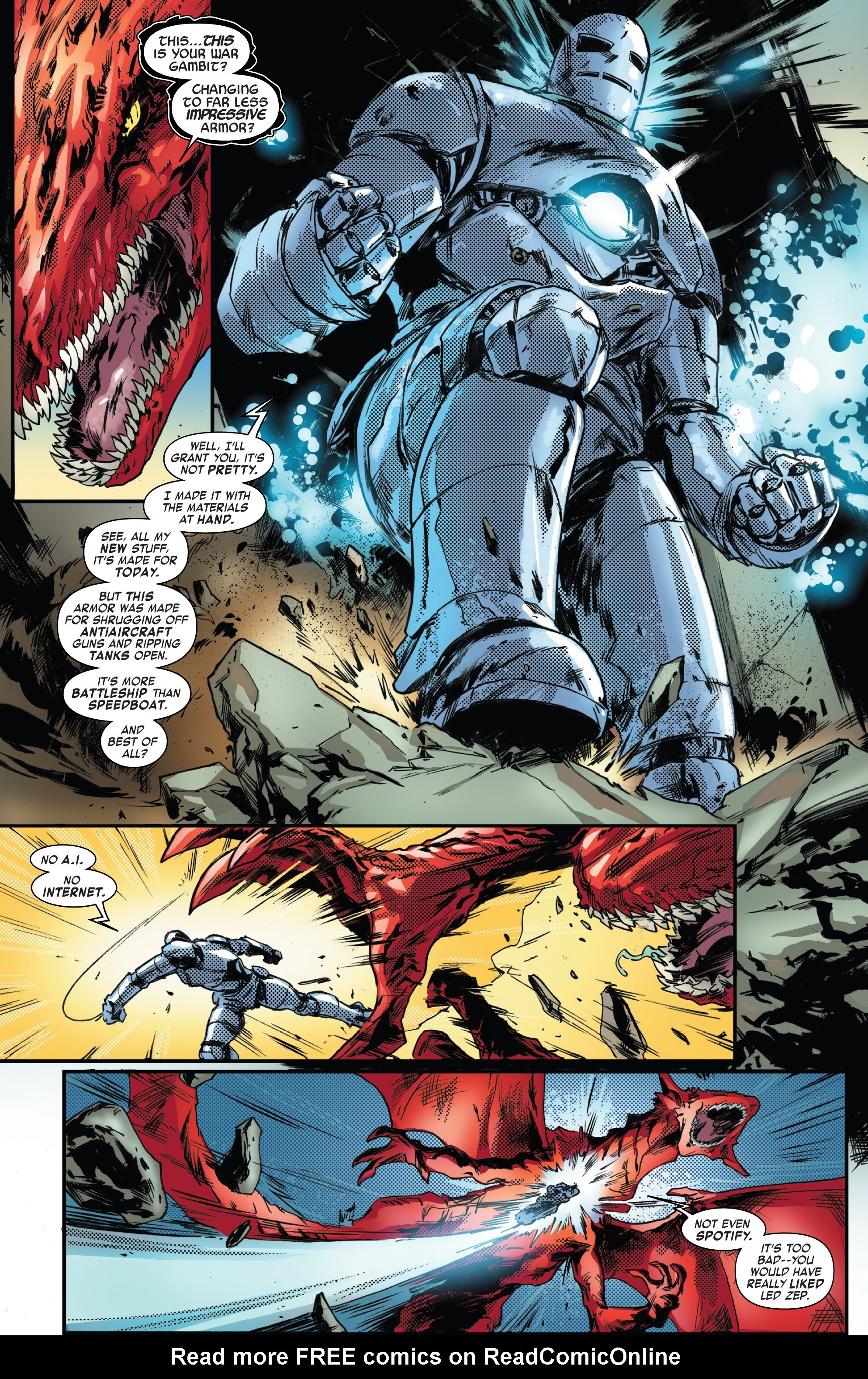 Read online Tony Stark: Iron Man comic -  Issue #13 - 21