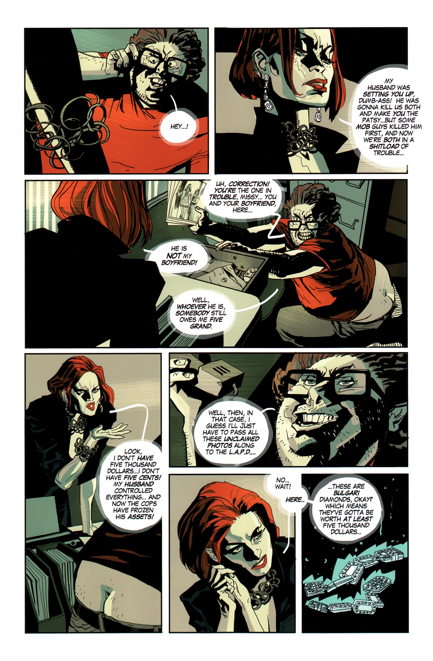 Blue Estate Issue 9 | Viewcomic reading comics online for
