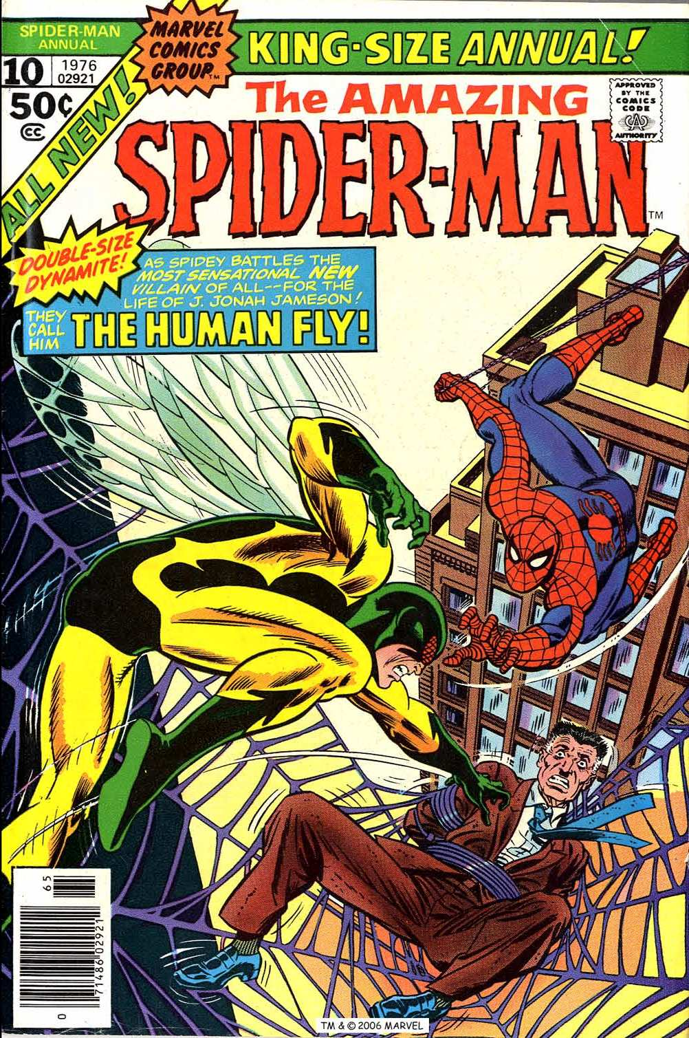 The Amazing Spider-Man (1963) _Annual_10 Page 1