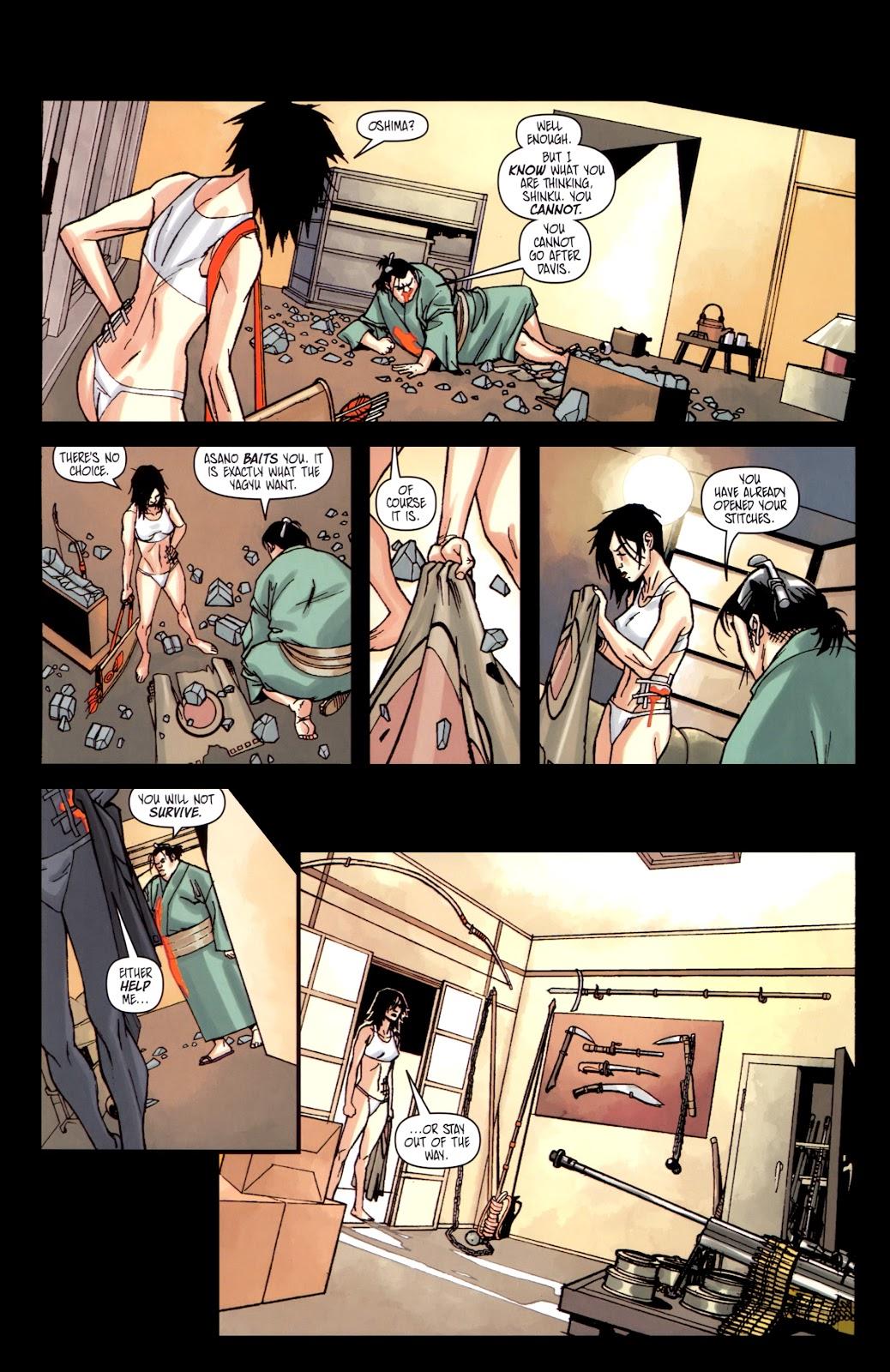 Read online Shinku comic -  Issue #5 - 9