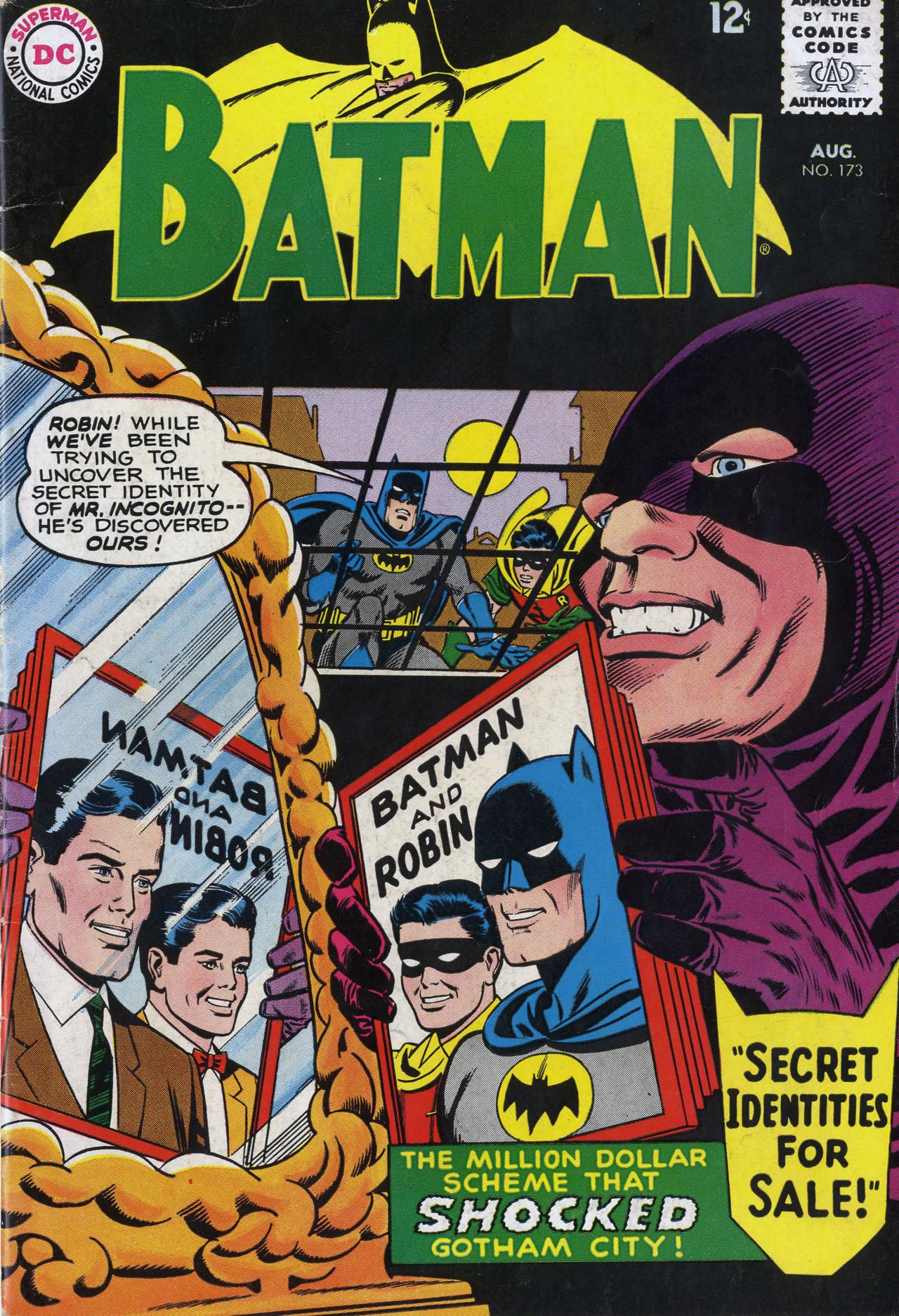Batman (1940) 173 Page 1