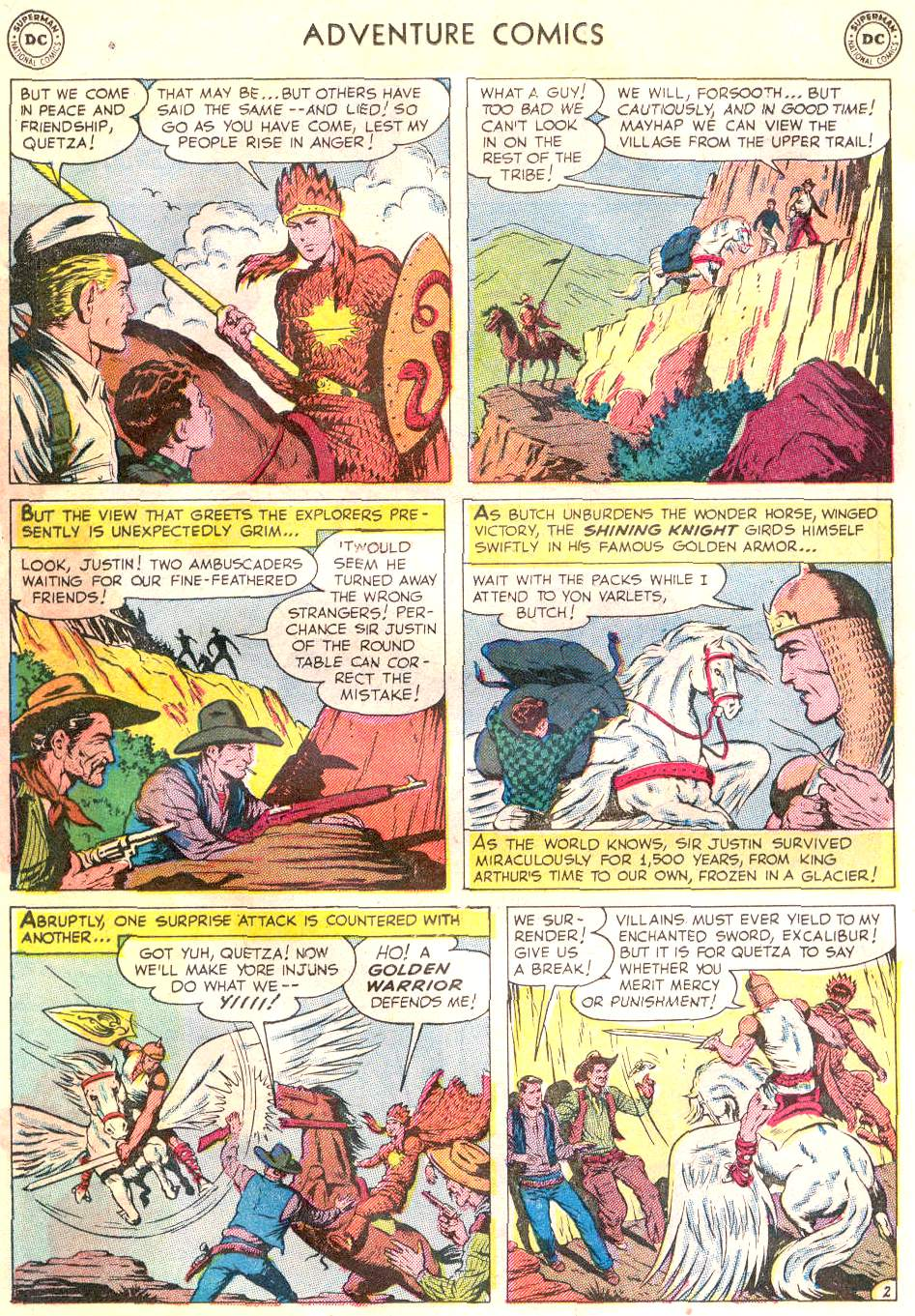 Read online Adventure Comics (1938) comic -  Issue #166 - 15