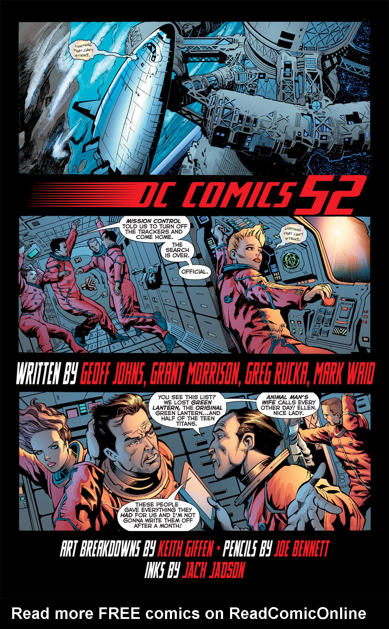 Read online 52 comic -  Issue #4 - 4