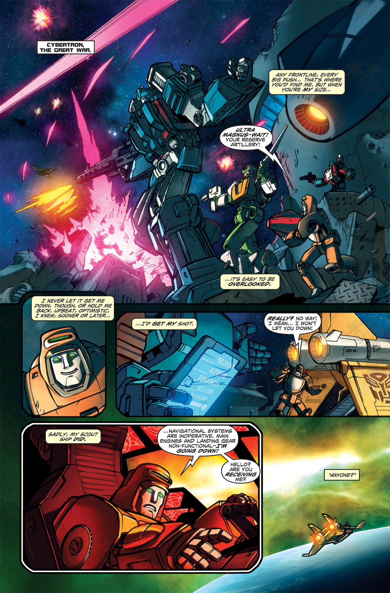 Read online Transformers Spotlight: Wheelie comic -  Issue # Full - 6