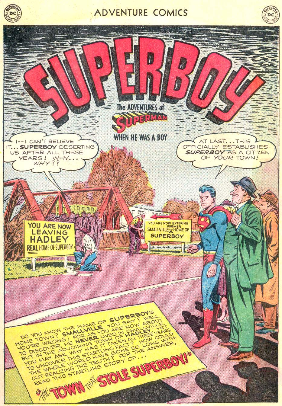 Read online Adventure Comics (1938) comic -  Issue #166 - 2