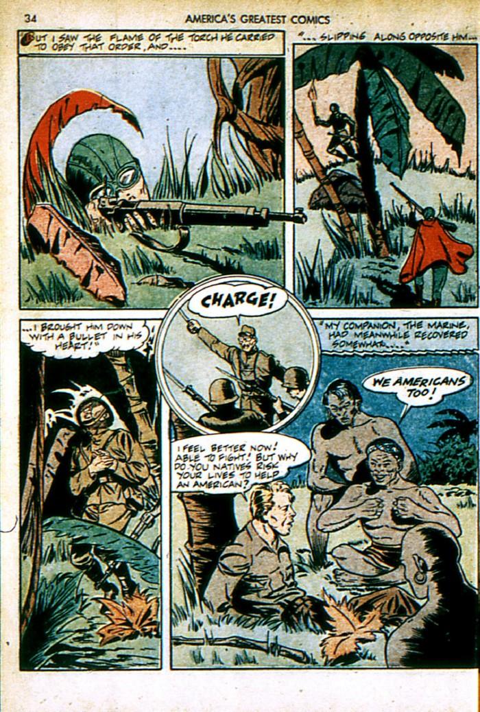 Read online America's Greatest Comics comic -  Issue #4 - 34