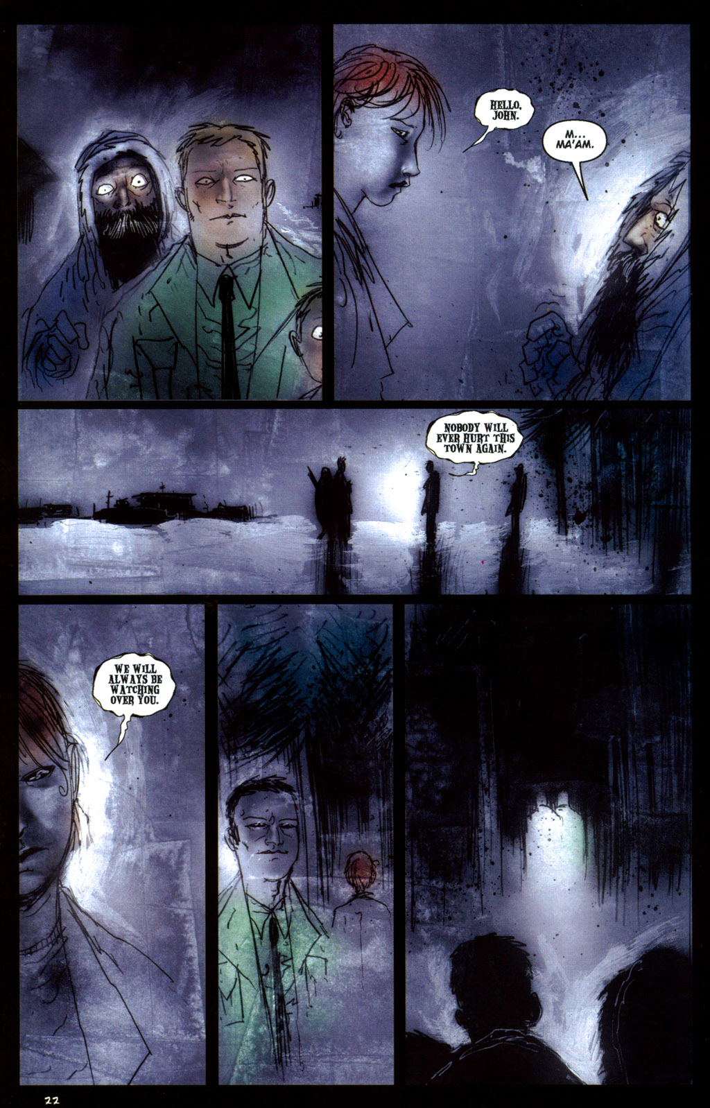 Read online 30 Days of Night: Return to Barrow comic -  Issue #6 - 24