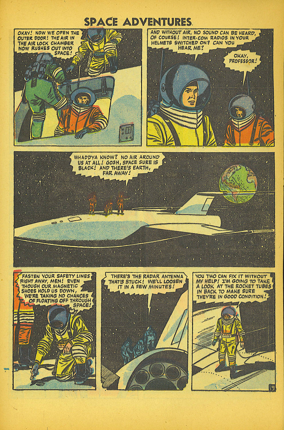 Space Adventures (1952) issue 20 - Page 21