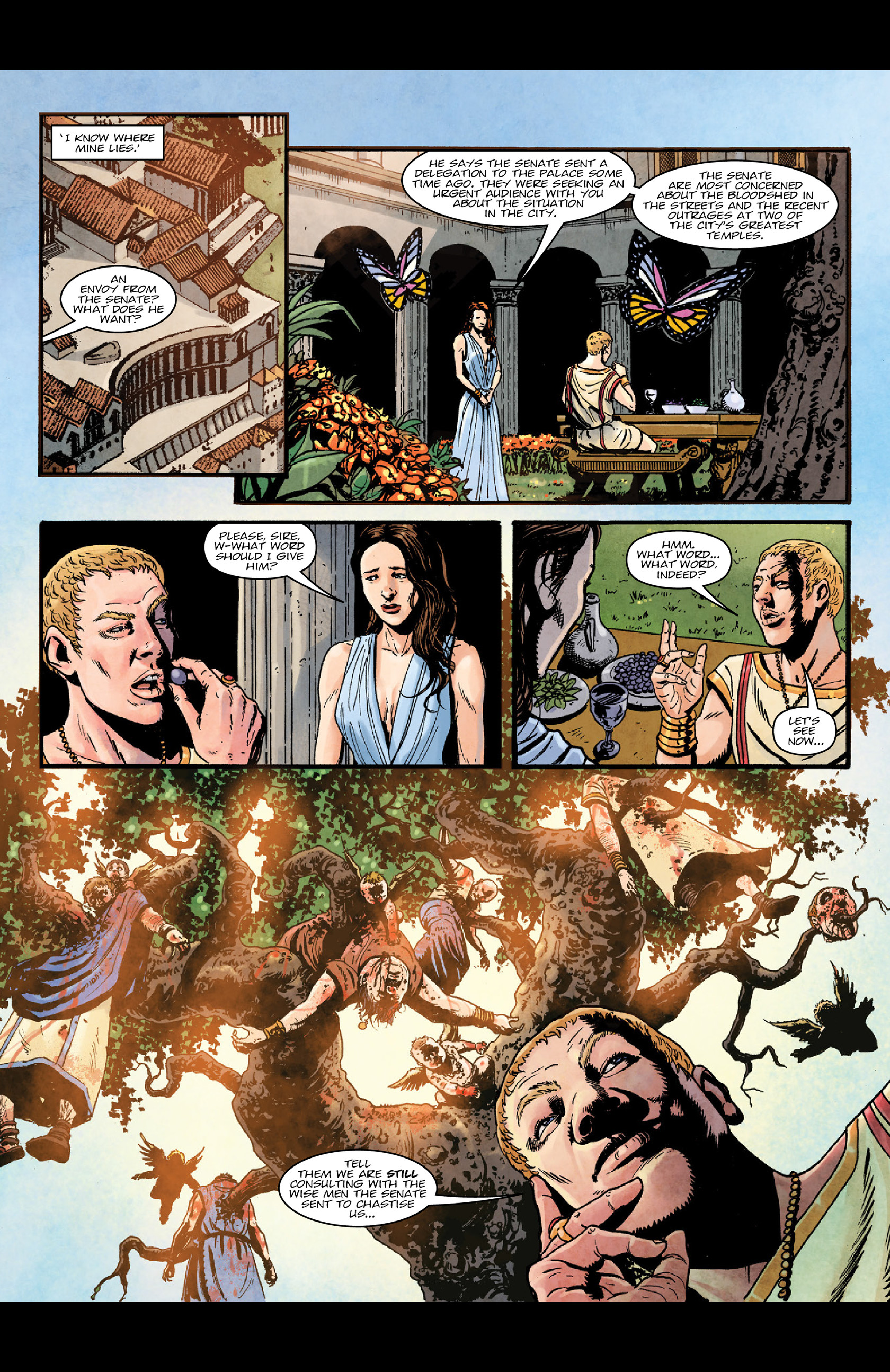 Read online Aquila comic -  Issue #5 - 12