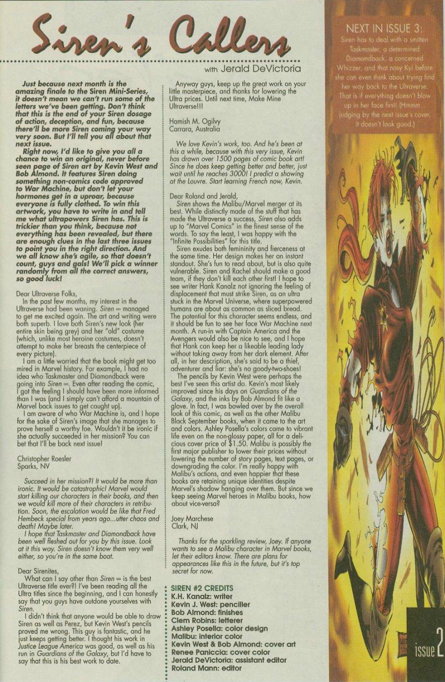 Read online Siren comic -  Issue #2 - 25