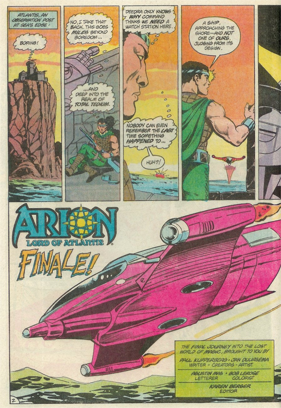 Read online Arion, Lord of Atlantis comic -  Issue #Arion, Lord of Atlantis _Special 1 - 3
