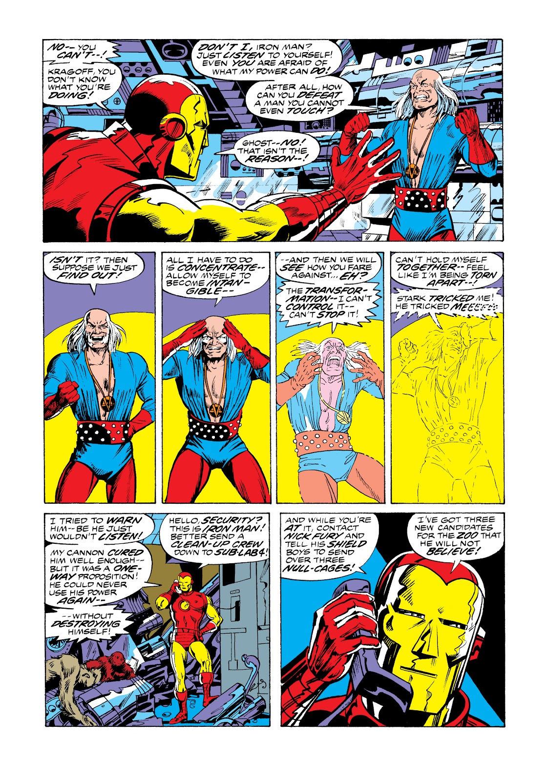 Read online Marvel Masterworks: The Invincible Iron Man comic -  Issue # TPB 11 (Part 1) - 45