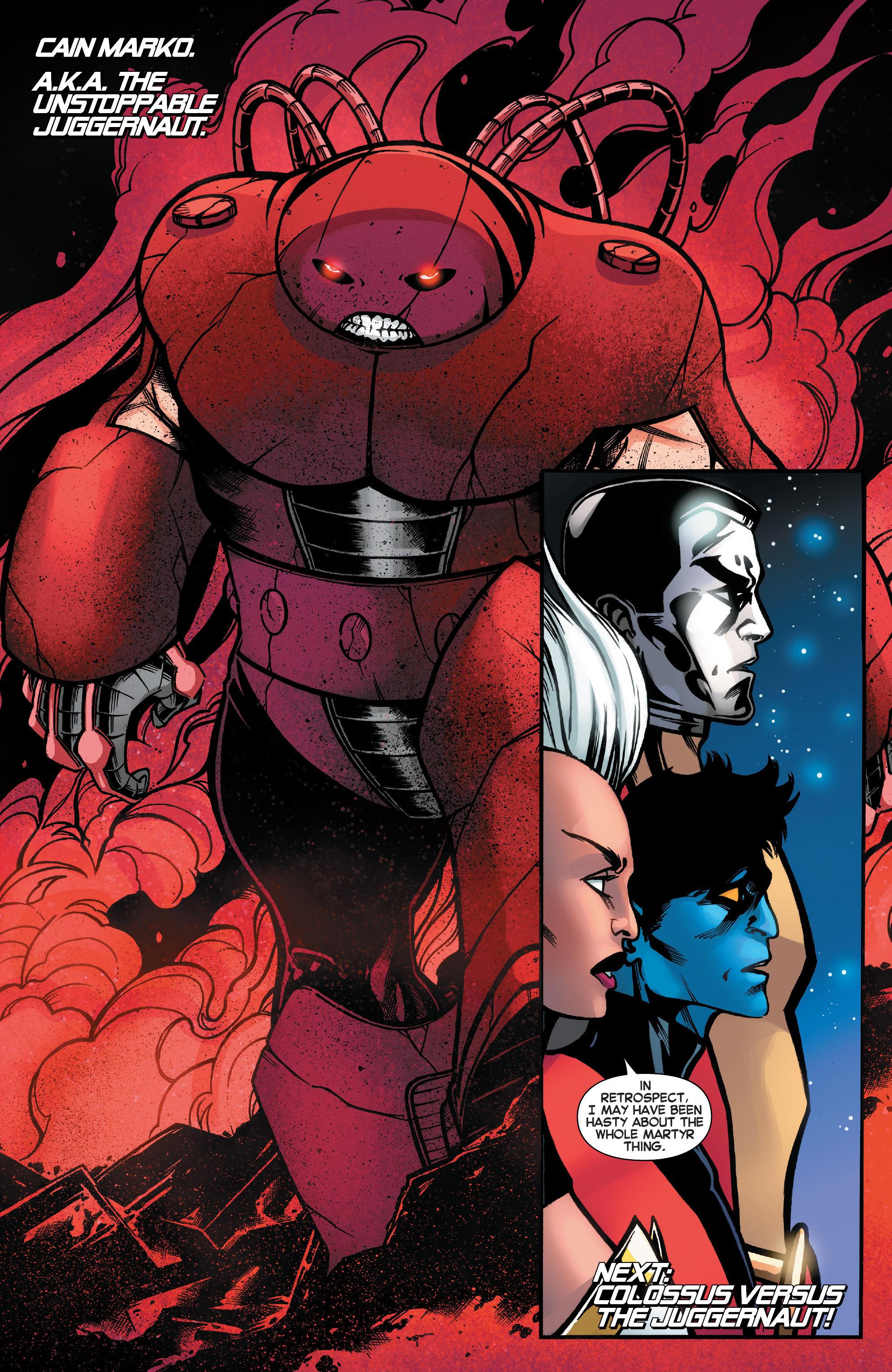 Read online Amazing X-Men (2014) comic -  Issue #18 - 22
