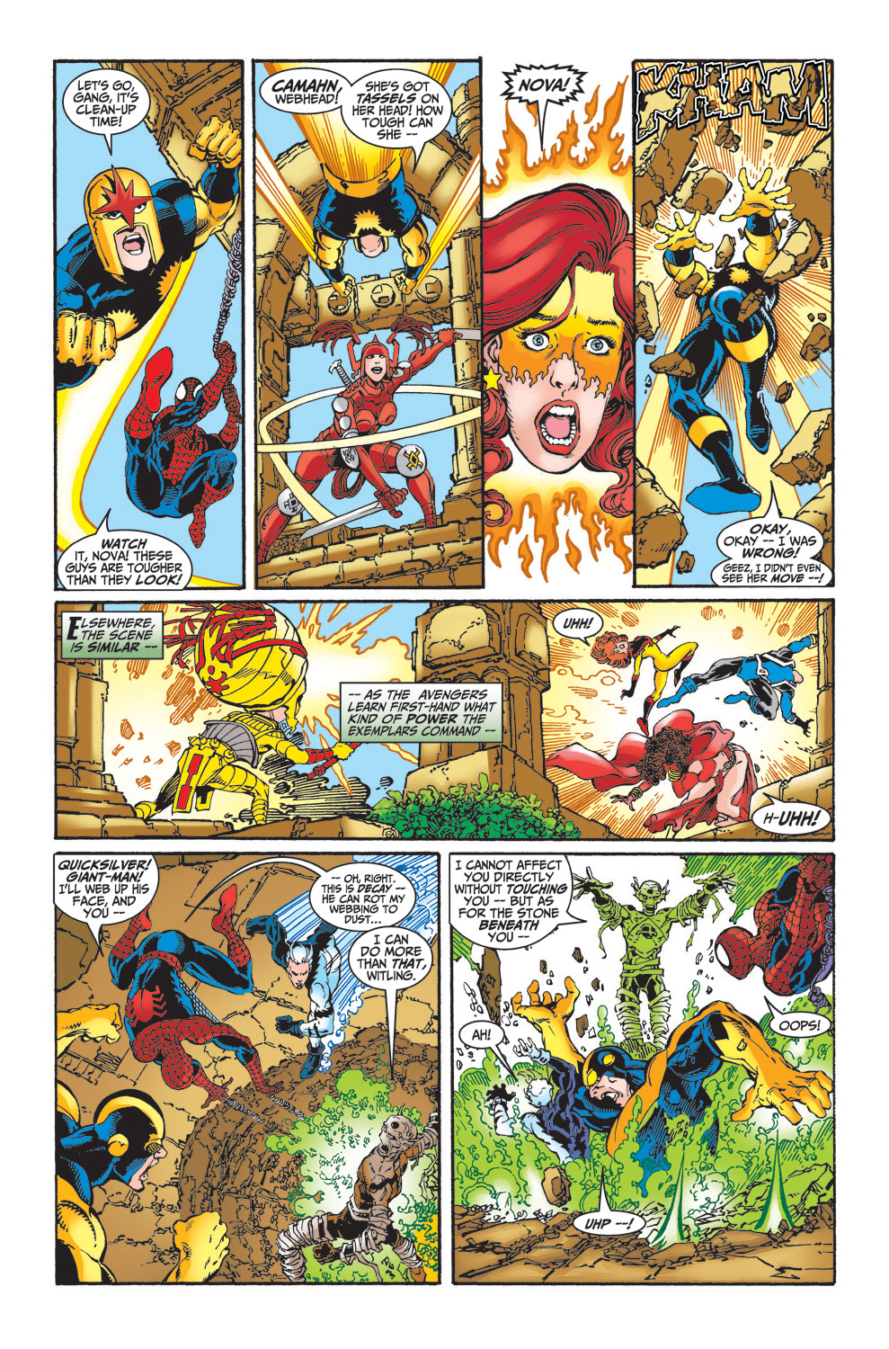 Read online Avengers (1998) comic -  Issue #25 - 20