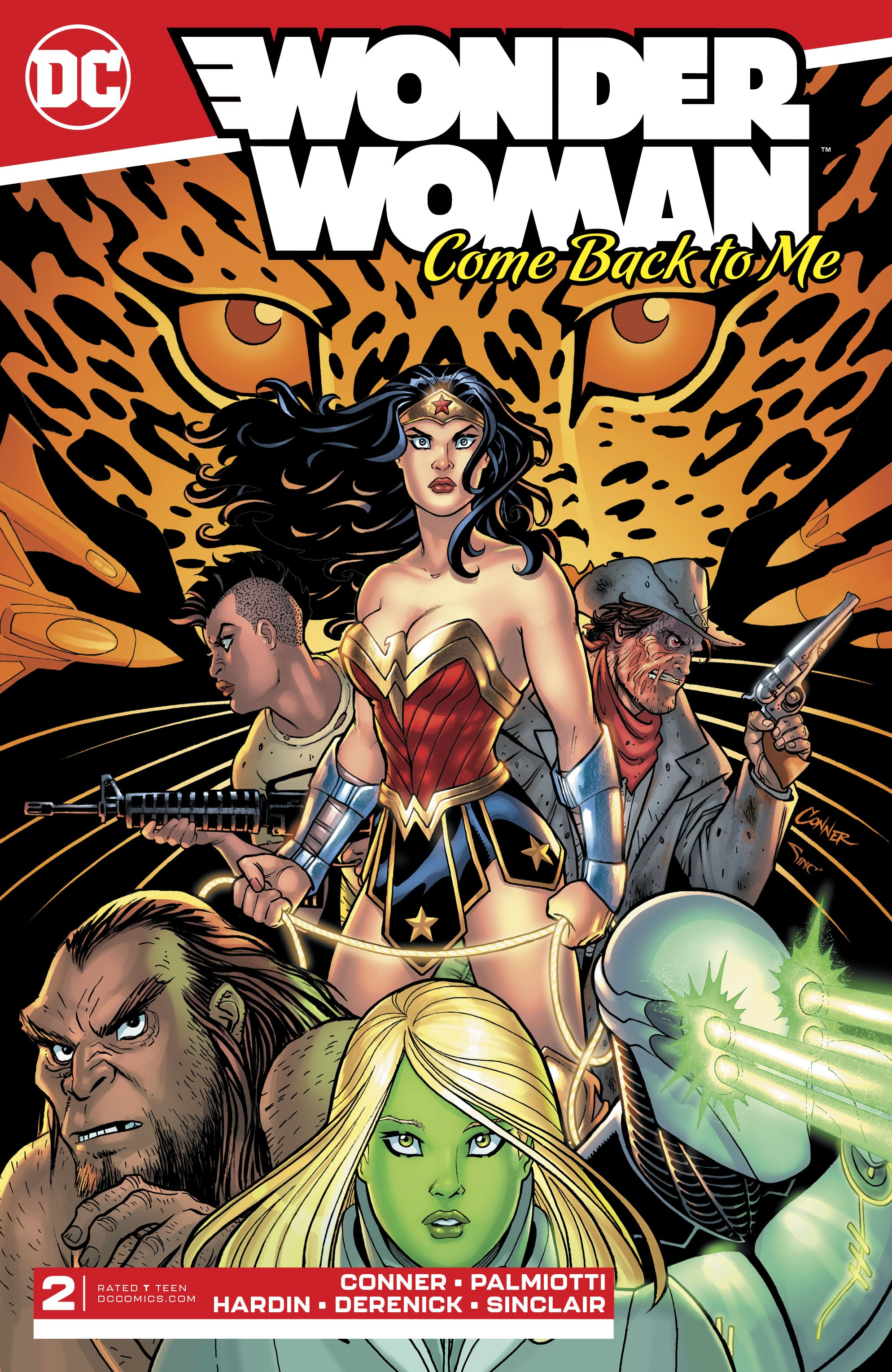 Wonder Woman: Come Back To Me 2 Page 1