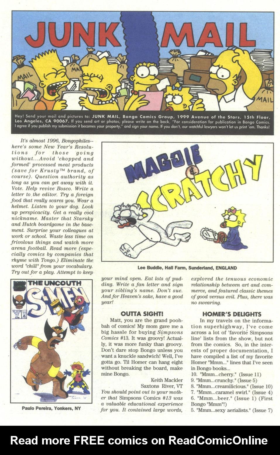 Read online Simpsons Comics comic -  Issue #15 - 22