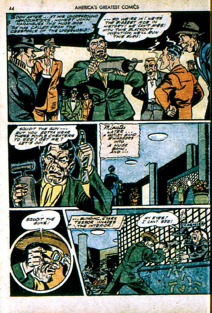 Read online America's Greatest Comics comic -  Issue #4 - 44